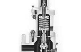 Farris steam safety valve