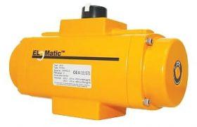 Elomatic Pneumatic Rack and Pinion Actuator