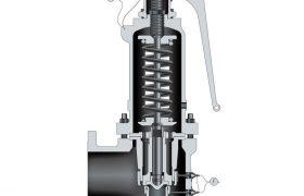 steam safety valve