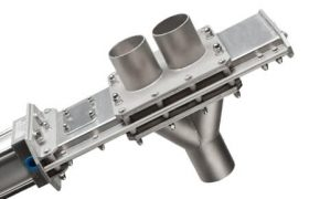 Vortex diverter valve